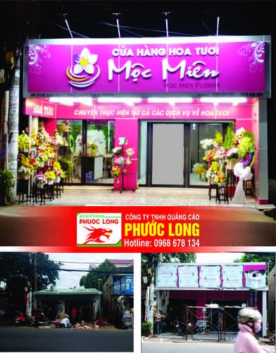 Địa chỉ thi công bảng hiệu quảng cáo tại TPHCM