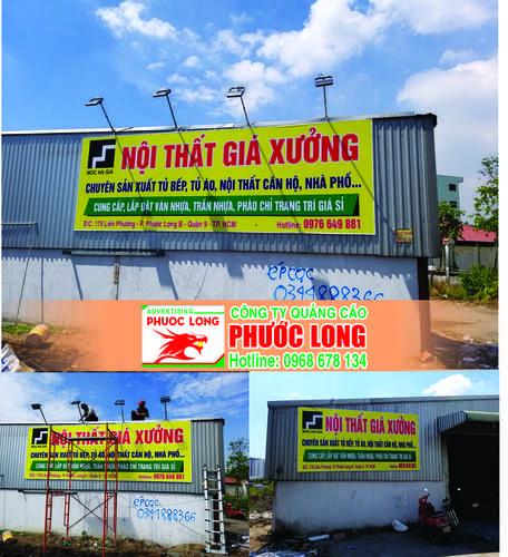 thiết kế  bảng hiệu quảng cáo tại quận 9